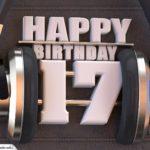 17. Geburtstag Karte Happy Birthday Kopfhörer
