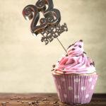 23. Geburtstag Muffin Geburtstagskuchen Happy Birthday