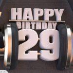 29. Geburtstag Karte Happy Birthday Kopfhörer