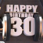 30. Geburtstag Karte Happy Birthday Kopfhörer