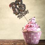 33. Geburtstag Muffin Geburtstagskuchen Happy Birthday
