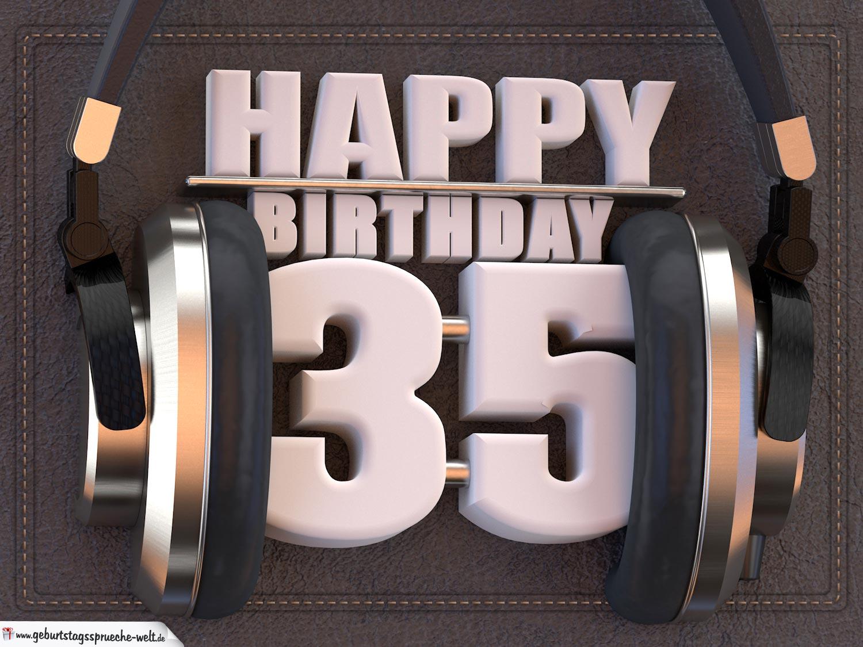 Geburtstag 35