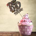 35. Geburtstag Muffin Geburtstagskuchen Happy Birthday