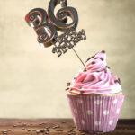 36. Geburtstag Muffin Geburtstagskuchen Happy Birthday