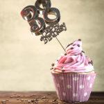 38. Geburtstag Muffin Geburtstagskuchen Happy Birthday