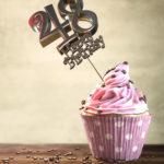 48. Geburtstag Muffin Geburtstagskuchen Happy Birthday