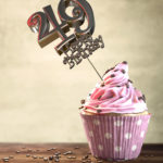 49. Geburtstag Muffin Geburtstagskuchen Happy Birthday