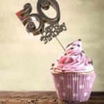 50. Geburtstag Muffin Geburtstagskuchen Happy Birthday