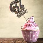 67. Geburtstag Muffin Geburtstagskuchen Happy Birthday