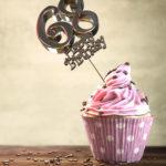 68. Geburtstag Muffin Geburtstagskuchen Happy Birthday