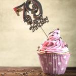 79. Geburtstag Muffin Geburtstagskuchen Happy Birthday