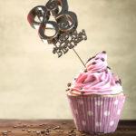 83. Geburtstag Muffin Geburtstagskuchen Happy Birthday