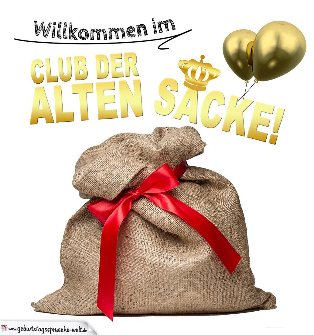 Club Der Alten Säcke U2013 Geburtstagskarte