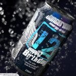 Coole Geburtstagskarte - Energy-Drink Getränkedose 12 Happy Birthday