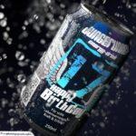 Coole Geburtstagskarte - Energy-Drink Getränkedose 17 Happy Birthday