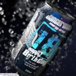 Coole Geburtstagskarte - Energy-Drink Getränkedose 18 Happy Birthday