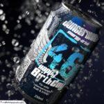 Coole Geburtstagskarte - Energy-Drink Getränkedose 46 Happy Birthday