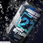 Coole Geburtstagskarte - Energy-Drink Getränkedose 23 Happy Birthday