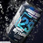 Coole Geburtstagskarte - Energy-Drink Getränkedose 29 Happy Birthday