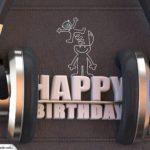 Geburtstag Karte Happy Birthday Kopfhörer