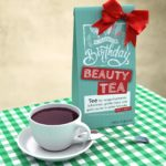Geburtstagskarte kostenlos mit Tee Happy Birthday