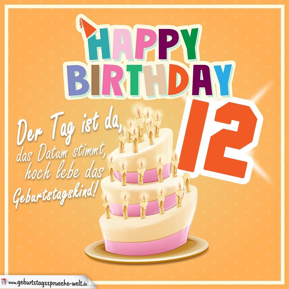 Geburtstagbpruche 12