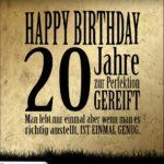 20. Geburtstag Retro Geburtstagskarte