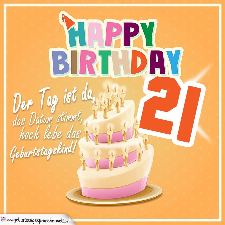 Geburtstagswünsche Zum 21 ᐅ Kurze Geburtstagswünsche 2019