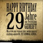 29. Geburtstag Retro Geburtstagskarte