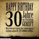 30. Geburtstag Retro Geburtstagskarte