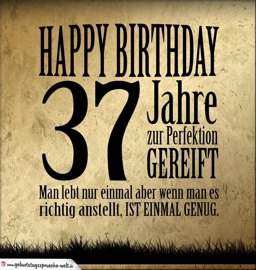 Geburtstagswunsche mann 37