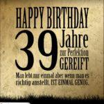 39. Geburtstag Retro Geburtstagskarte