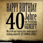 40. Geburtstag Retro Geburtstagskarte