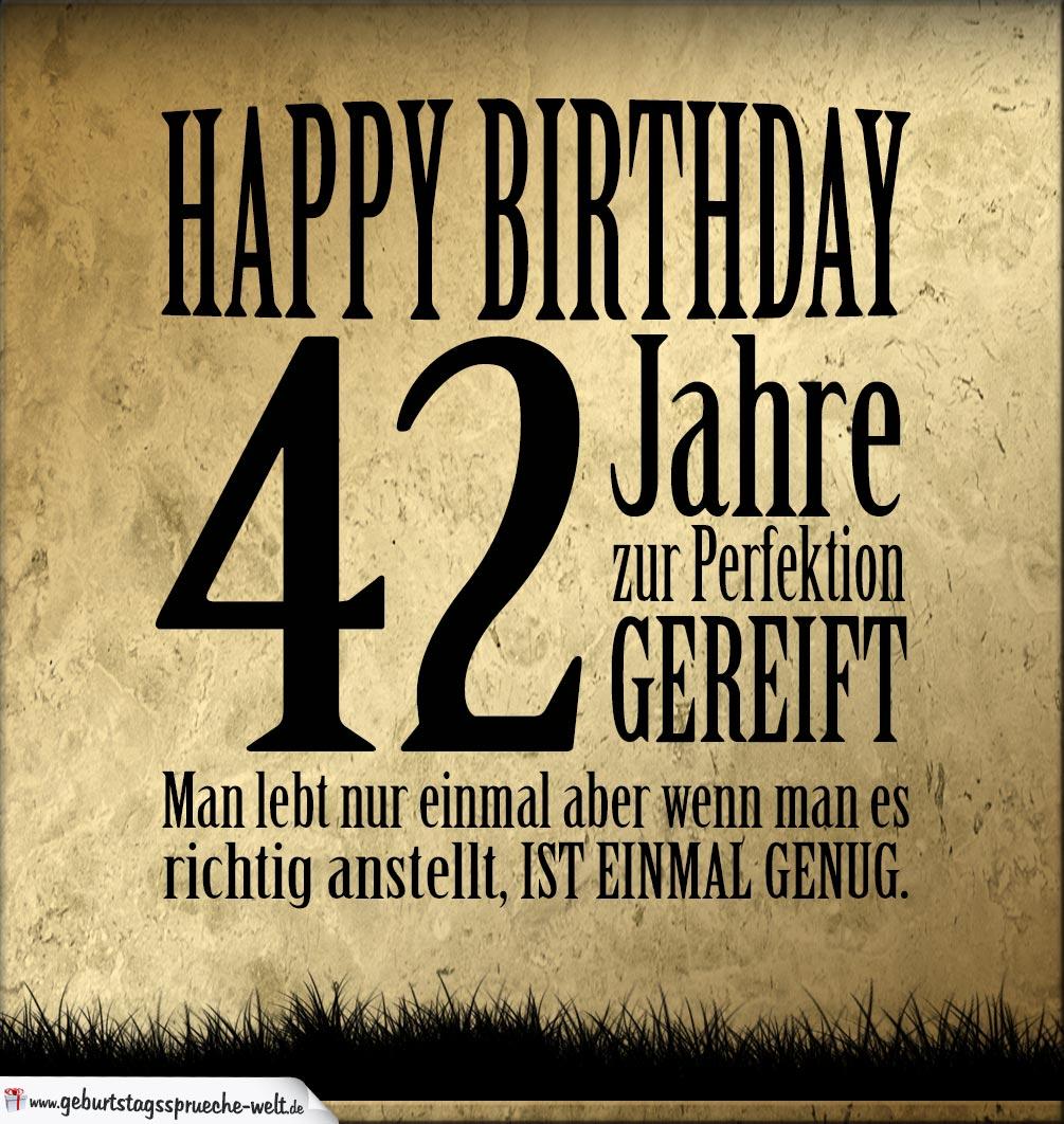 Geburtstagswunsche fur manner 42