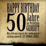 50. Geburtstag Retro Geburtstagskarte