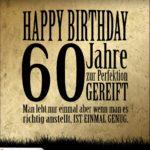 60. Geburtstag Retro Geburtstagskarte