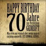 70. Geburtstag Retro Geburtstagskarte
