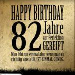 82. Geburtstag Retro Geburtstagskarte