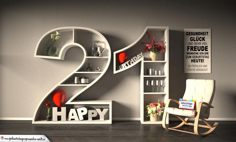 Spruch Zum 21 Geburtstag