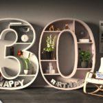 Kostenlose Geburtstagskarte Happy Birthday mit Spruch zum 30. Geburtstag