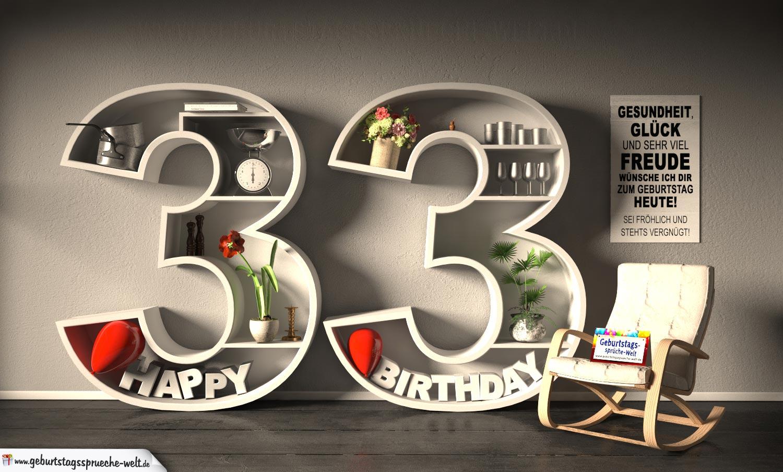 Wunsche Fur 33 Geburtstag Schöne Wünsche