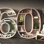 Kostenlose Geburtstagskarte Happy Birthday mit Spruch zum 60. Geburtstag