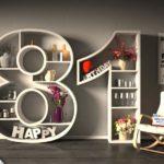 Kostenlose Geburtstagskarte Happy Birthday mit Spruch zum 81. Geburtstag